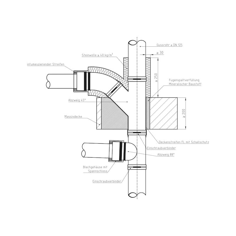 Rohrmanschette SML/Kunststoff - 4