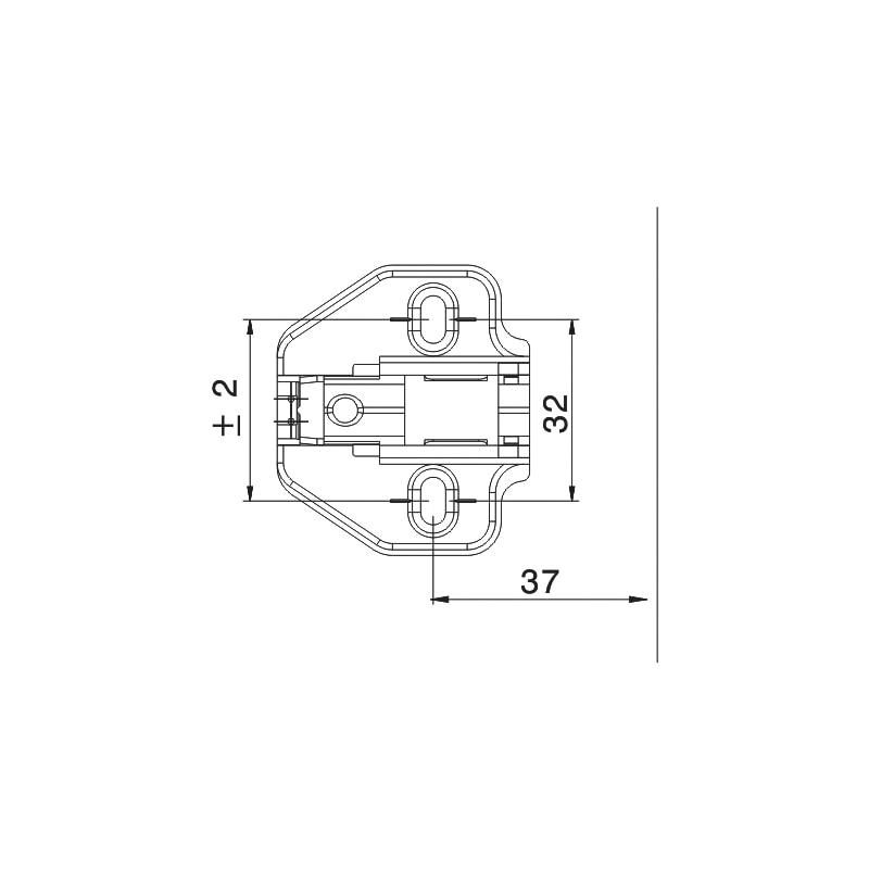 Montageplatte EasyClick - 2
