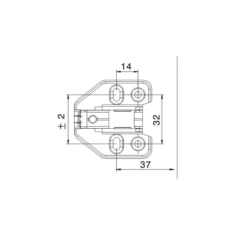 Montageplatte EasyClick - 3