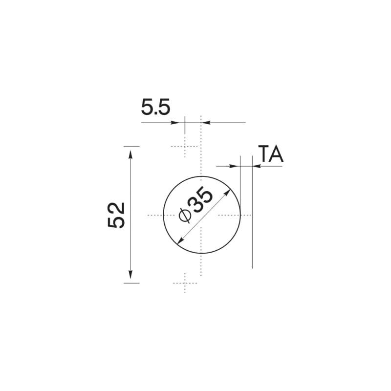 Möbelscharnier  EasyClick - 3