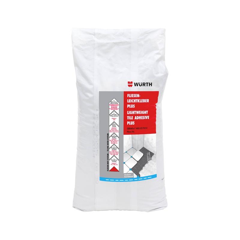Fliesenleichtkleber PLUS CERAfix<SUP>®</SUP> 403 C2 TE S1Flex/XL - 1
