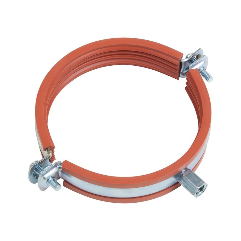 Rohrschelle TIPP<SUP>® </SUP>Silikon - C2C - ROSHEL-SILIKON-M8/10-(53-58MM)