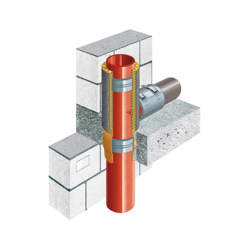 Rohrmanschette SML/Kunststoff - 5