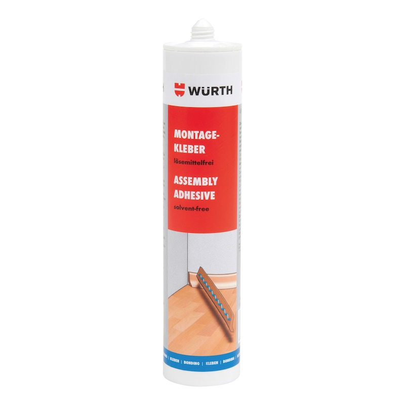 Solvent-free assembly adhesive - 1