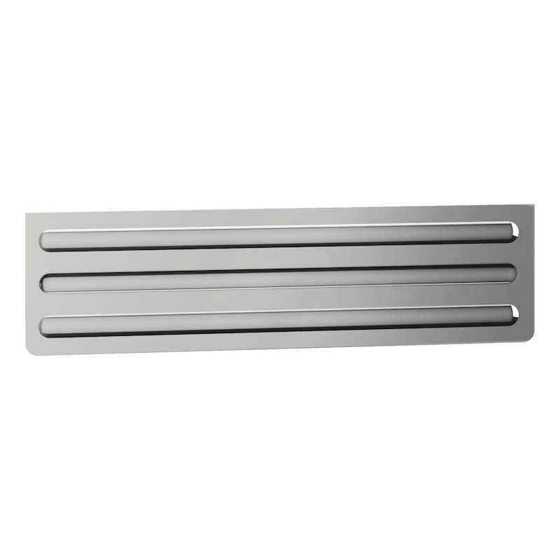 Aluminium partition panel for drawers