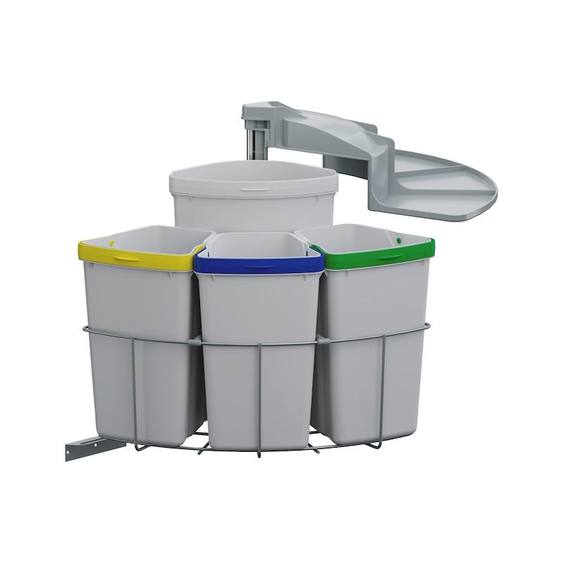Système de tri des ordures VS ENVI Center 4 - 1