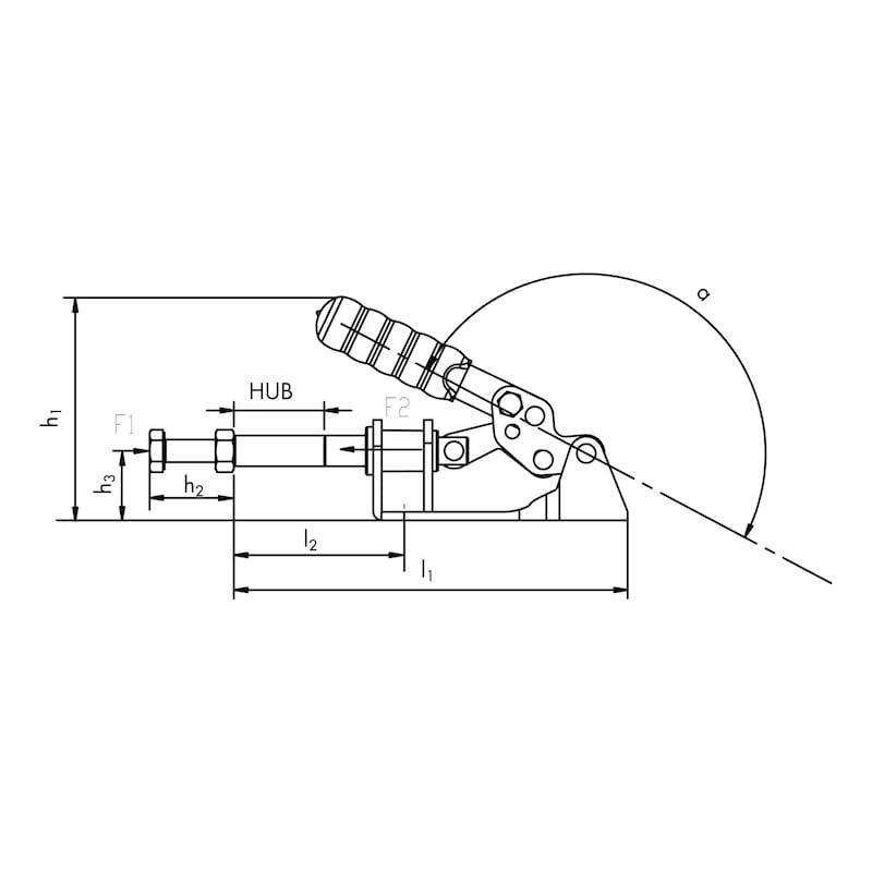 Push-rod clamp - 2