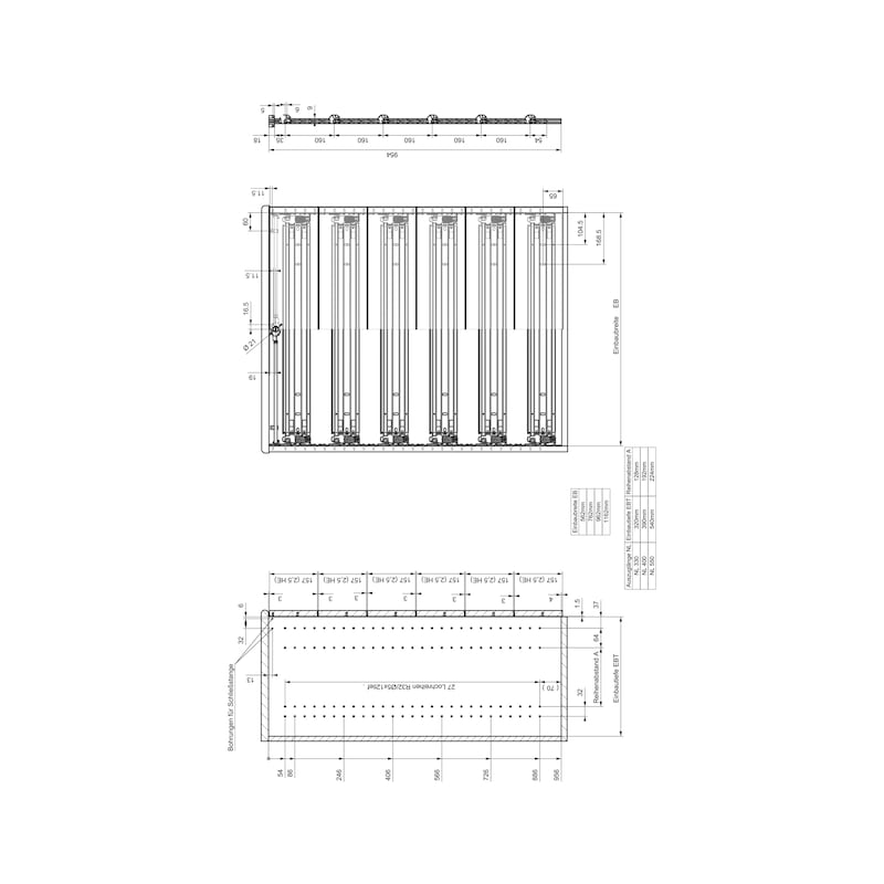 Breitschublade  OrgaAer - 7