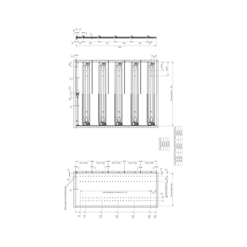 Breitschublade  OrgaAer - 8