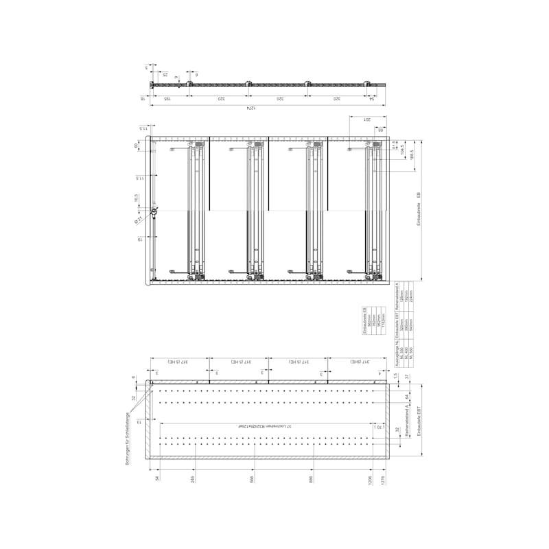 Breitschublade  OrgaAer - 10