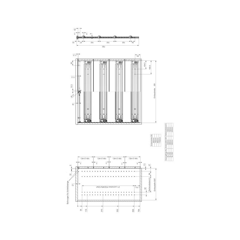 Breitschublade  OrgaAer - 11