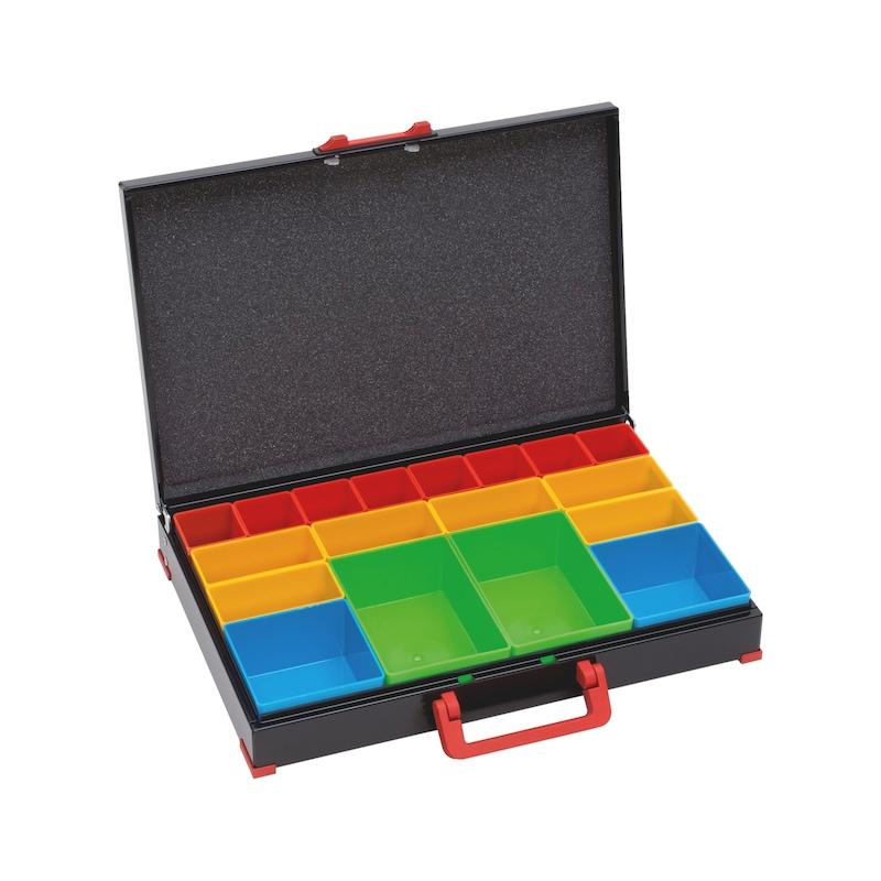 Plaatstalen koffer