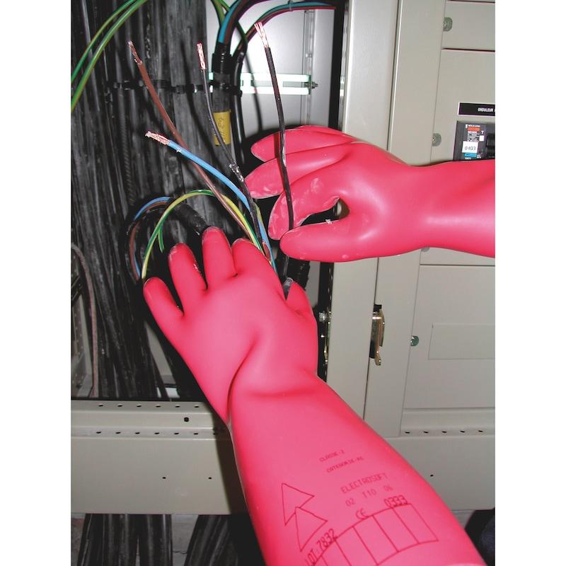 Rukavice na ochranu proti elektrickému napätiu - 0
