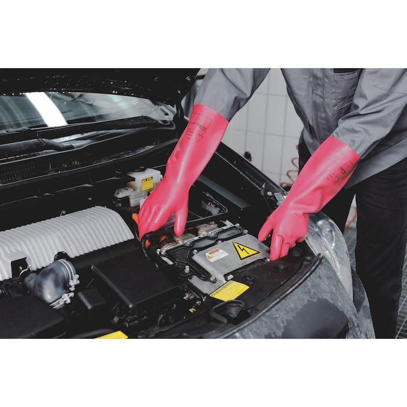 Rukavice na ochranu proti elektrickému napätiu - 2