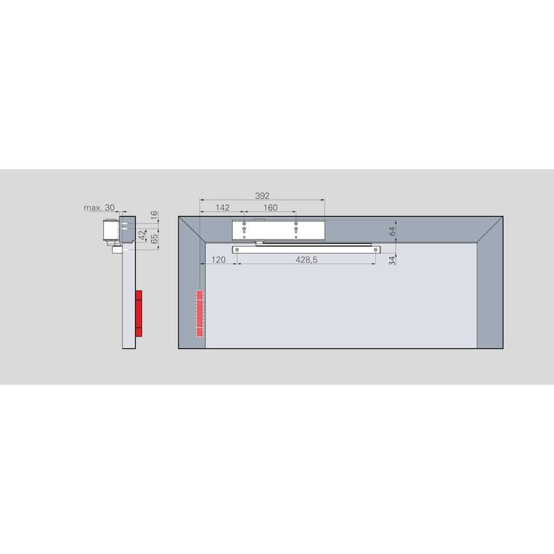 Türschließer GTS 690 (EN 5-6) Mit Gleitschiene  - 4
