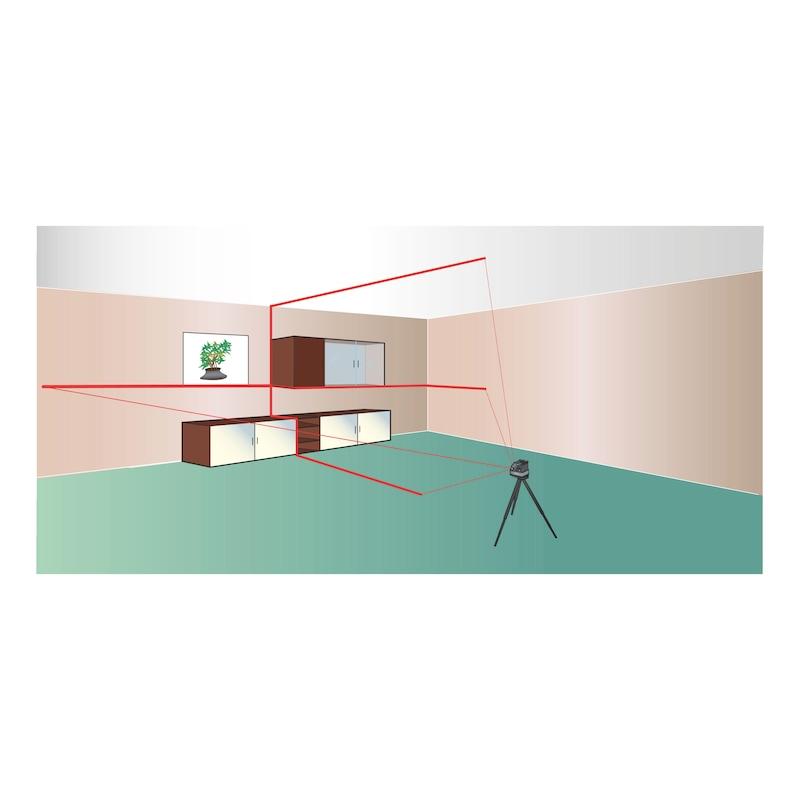 Çapraz çizgi lazeri CLL 11 - YATAY/DIKEY LAZERLİ TERAZİ (CLL11)