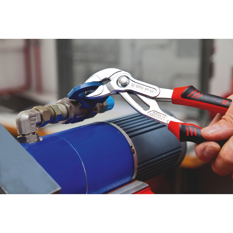 Alicate extensível para bombas de águas DIN ISO 8976 - ALICATE EXTENSIVEL ZEBRA 250MM