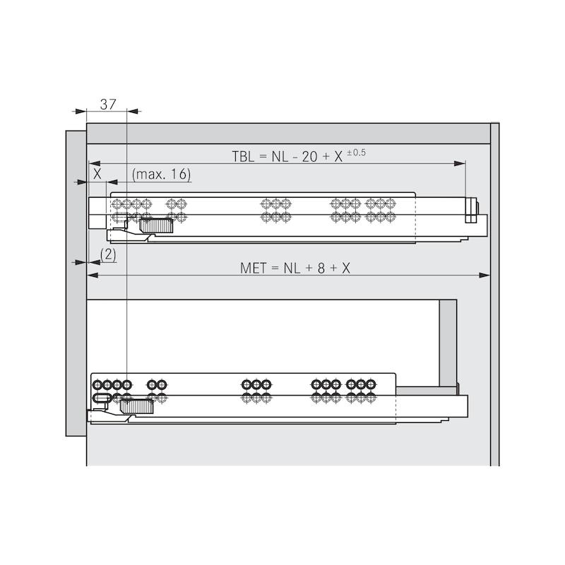 Tablarhalter-Set - 6