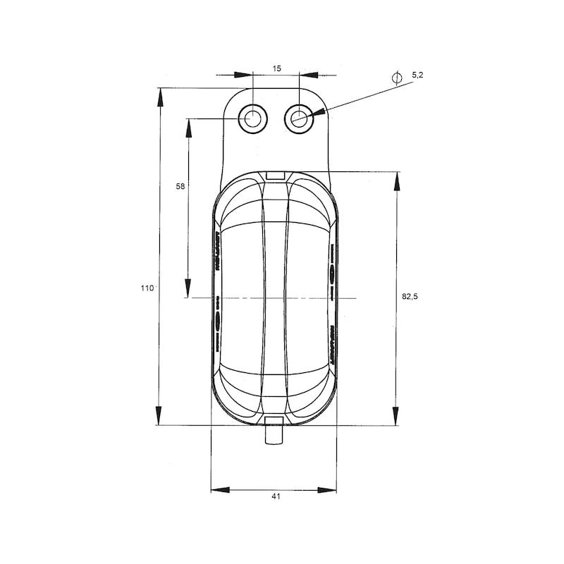 LED-Umrissleuchte 12 V/24 V - 2