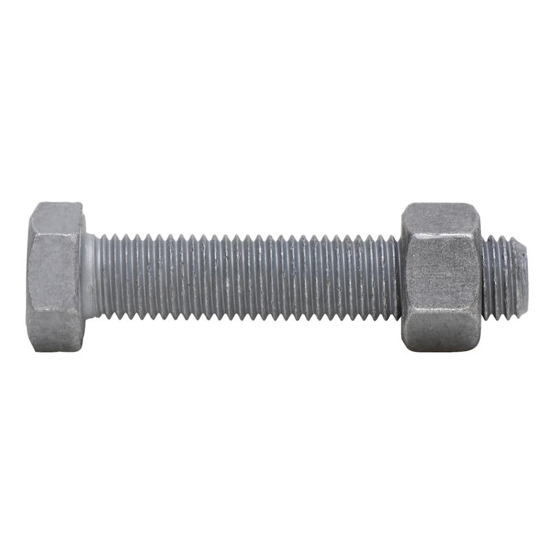 Sechskantschraube mit Gewinde bis Kopf SB-Garnitur DIN EN 15048-1 - 1