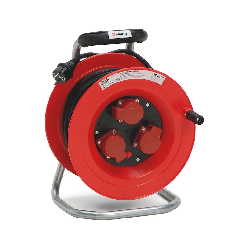 Kunststoff-Kabeltrommel 250 V - KBLTROM-KST-(H07RN-F3G1,5)-40M