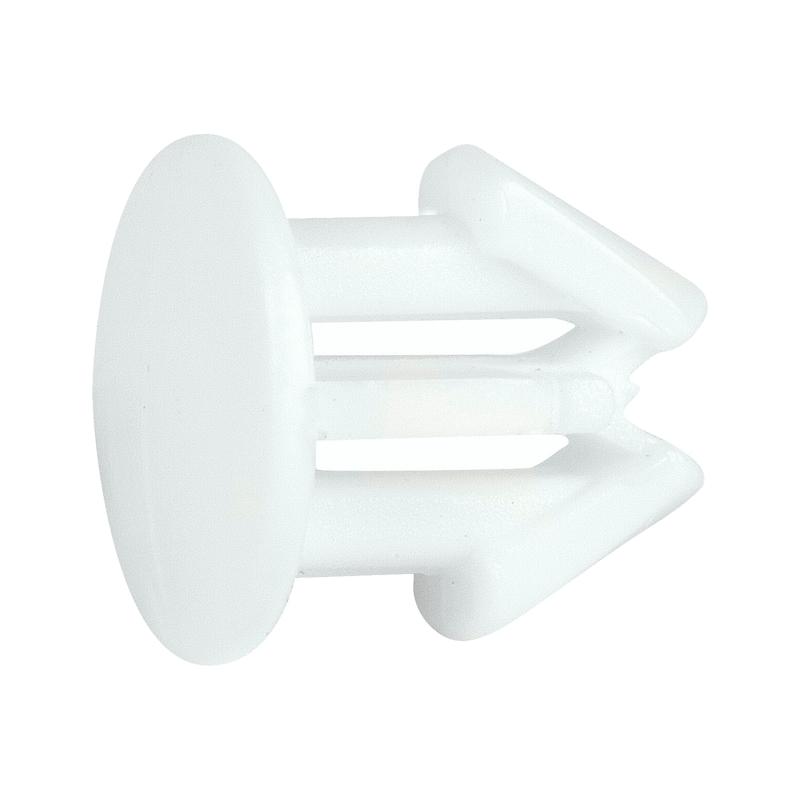Bottone per fissaggio targa