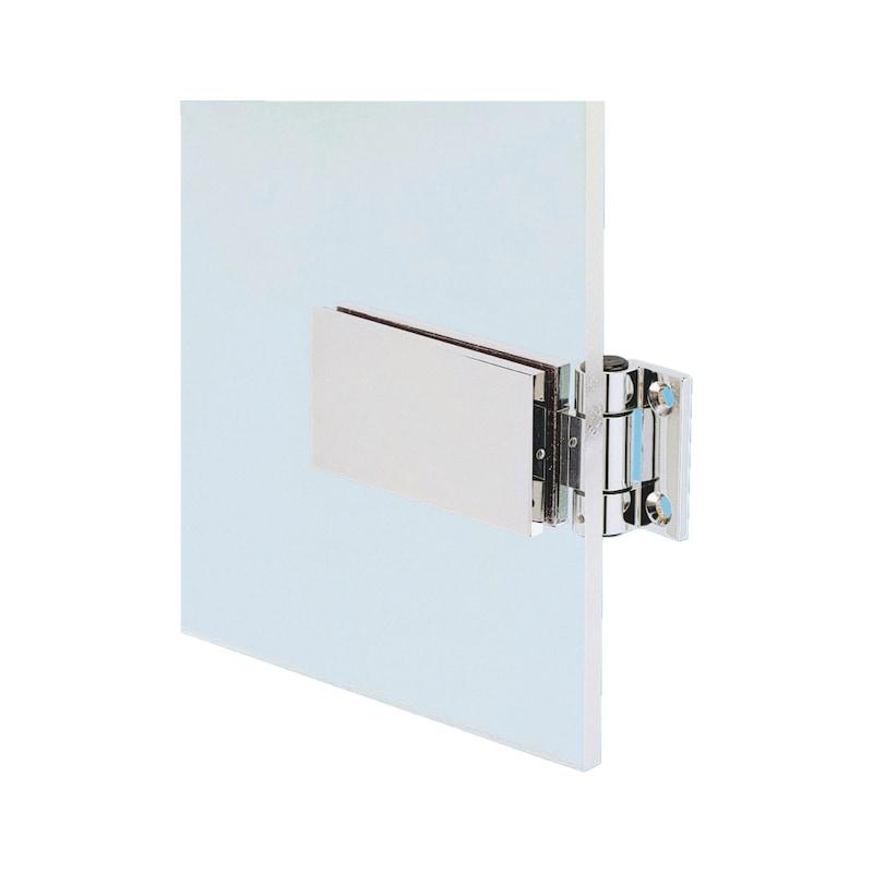 Cerniera libera per porte in vetro - 1