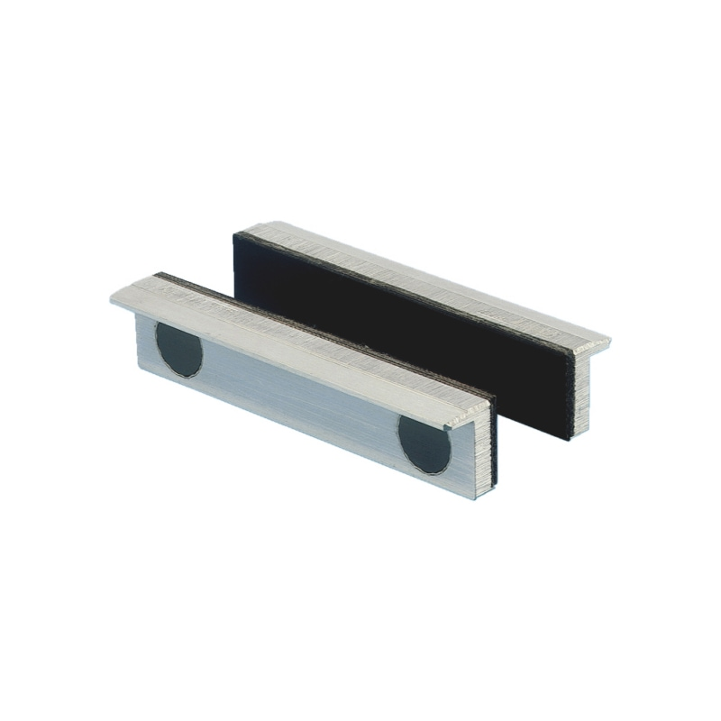 Mors en aluminium avec revêtement en caoutchouc synthétique