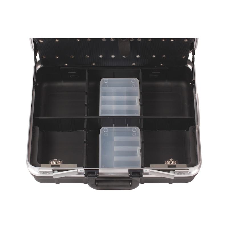 Kit de mallette d'entretien PE/ALU, assortiment d'outils, 76pièces  - 4