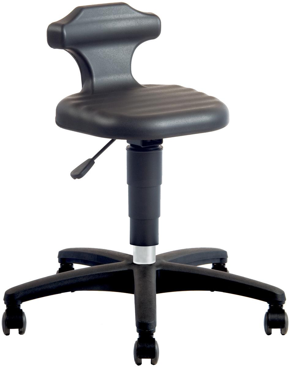 bimos arbeitshocker und stehhilfe mit rollen oder gleitern 50130100 104 hahn kolb. Black Bedroom Furniture Sets. Home Design Ideas