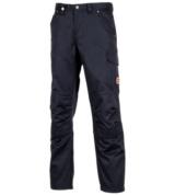 pantalon de travail stretchfit gris au tissu extensible. Black Bedroom Furniture Sets. Home Design Ideas