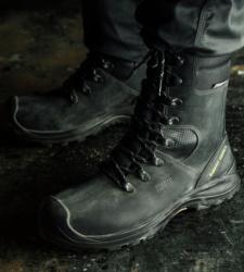 foto di Scarpa da lavoro alta nera Grado X S3