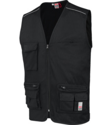 Photo de Gilet de travail multipoches Classic Würth MODYF noir