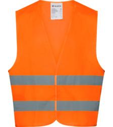 Foto von Warnschutz Weste EN ISO 20471:2013 orange