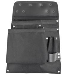 Praktische & robuste Werkzeugtasche in Schwarz für Handerker, Dachdecker, Zimmerer und als Zunft Zubehör