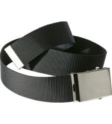 foto di Cintura nera in tessuto elastico