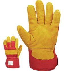 Photo de 12 paires de gants de manutention Dockers anti-froid