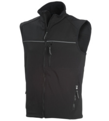 Photo de Gilet Softshell noir