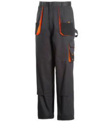 Photo de Pantalon de travail Chrono anthracite/noir/orange