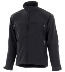 Photo de Softshell Mascot Unique Dresden dark anthracite/black