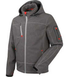 Photo de Veste Softshell Artic carbone