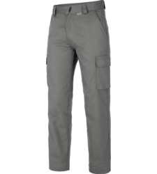 Photo de Pantalon de travail Classic 100% Coton Gris