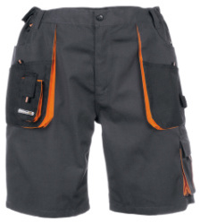 Foto von Shorts Work Dunkelgrau,Orange