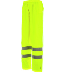 Pantalon de travail jaune pour conducteur de chariot élévateur