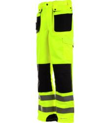 Warnschutzhose gelb für Straßenbau