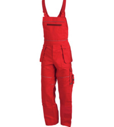 Arbeitslatzhose rot für Lagerarbeiter