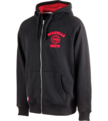 Photo de Sweat à capuche Hoody noir/rouge