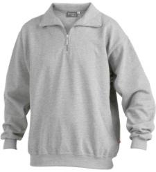 Foto von Sweatshirt® Zip grau-Melange