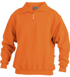Foto von Sweatshirt® Zip Orange