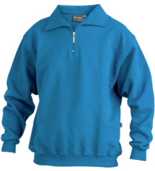 Foto von Sweatshirt® Zip royal